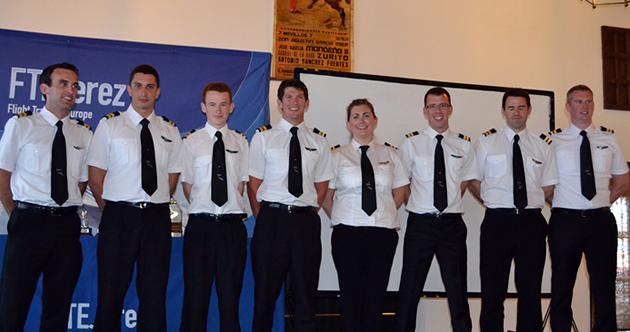 FTE Jerez Pilot Graduates
